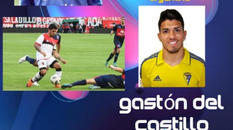 Gaston del Castillo ficha por el Olivenza. Twitter/OlivenzaFC