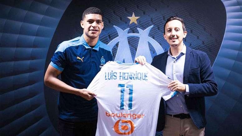 Luis Henrique se formó en la cantera de Botafogo. OM