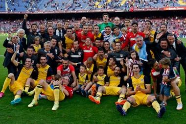 El Atlético logró lo que parecía imposible en 2014. ClubAtléticodeMadrid