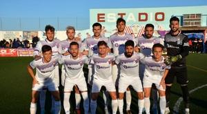El Jaén gana en San Benito. Twitter/RealJaenCF