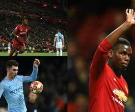 El once ideal de la Premier League en la presente temporada. BeSoccer/EFE