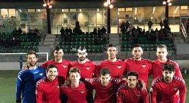 El Atlético Saguntino logró retener la cuarta plaza en la última jornada. AtSaguntino