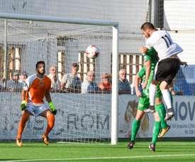 El Ontinyent pasó a la tercera ronda de la Copa del Rey. OntinyentCF