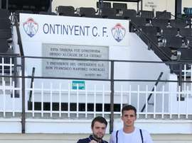 El Ontinyent ha incorporado a su plantilla al defensa argentino Franco Russo. OnatinyentCF