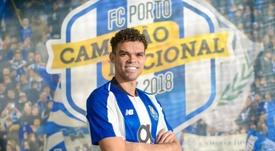 Pepe, en passe de prolonger à Porto