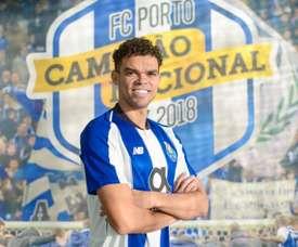 Pepe torna al Porto. FCPorto
