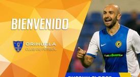 El Orihuela anunció el fichaje de Chechu Flores. OrihuelaCF