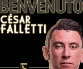 El Bologna cede a César Falletti. Twitter/PalermoCalcioIt