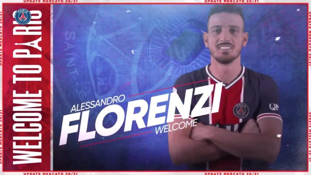 Official Florenzi Joins Psg Besoccer