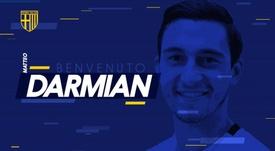 Pour Darmian, c'est Parme avant l'Inter ? ParmaCalcio