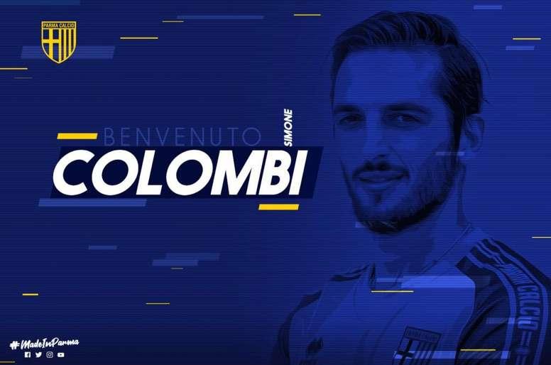 El Parma annonce Colombi. Twitter/1913parmacalcio