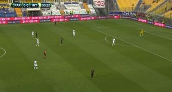 El Inter visitó el feudo del Parma en su penúltimo amistoso del verano. Captura/ParmaCalcio_en