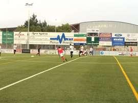 El partido entre el Nàstic y el Vilafranca perteneciente a la Copa Catalunya.