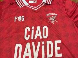 Emotivo homenaje en la Serie B. ACPerugiaCalcio