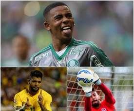 El portero Alisson y los delanteros Gabriel Jesús y Gabriel Barbosa son tres de los jóvenes talentos de Brasil. BeSoccer