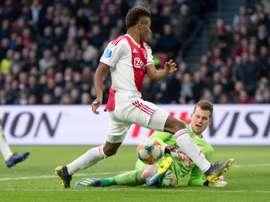 El Ajax logró una goleada ensombrecida. Twitter/AFCAjax