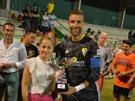 El Cádiz ganó por la mínima a Los Barrios. CadizCF
