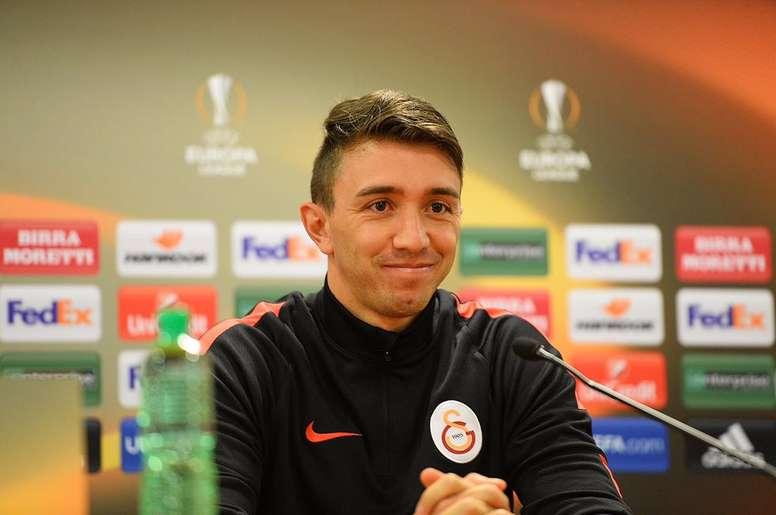 El portero del Galatasaray es uno de los objetivos del Tottenham para la próxima campaña. Twitter