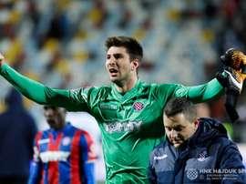 Letica suena para el Real Madrid. Hajduk