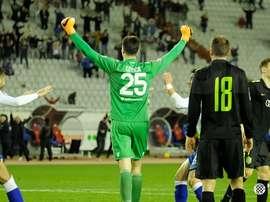 Letica estuvo sin equipo durante seis meses y fue marinero. Hajduk