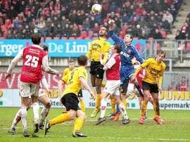 Maastricht y Roda protagonizan cada vez que se enfrentan el duelo más tenso del sur de Holanda. MVV
