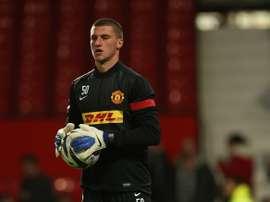 El portero del Manchester United, Sam Johnstone. ManUtd