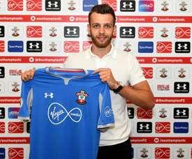 Angus Gunn es el portero Sub 21 titular de Inglaterra. Twitter/SouthamptonFC