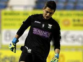 Serantes es uno de los que dejará el Lugo casi con toda seguridad. DeportivoLeganés