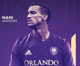 Nani arrive en MLS. OrlandoCity