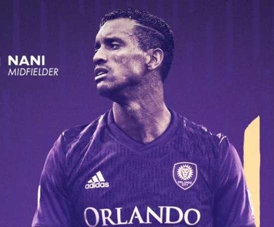Nani já é jogador do Orlando City. OrlandoCity