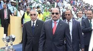 Mohamed Ould Abdel Aziz paró una final en el minuto 63. EFE/Archivo