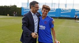 Riqui Puig podría salir cedido a Segunda División. FCBarcelona