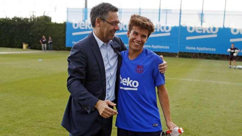 Riqui Puig, première grande surprise de Setién ? AFP