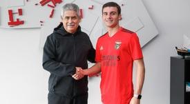 Benfica renova com a sua mais nova promessa. SLBenfica