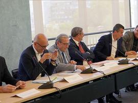 Marc Keller se reunió con representantes de varias entidades. RCSA