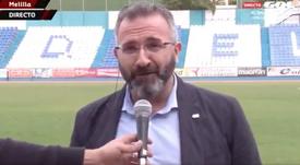Melilla, Luis Manuel Rincón Real Madrid. Captura/Gol