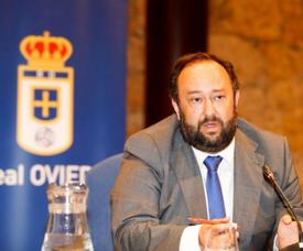 El presidente del Oviedo espera que el Sporting ofrezca sus disculpas. RealOviedo