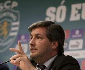 Bruno de Carvalho reagiu com ironia às palavras de Adrien. Twitter
