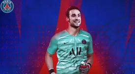 El PSG consiguió la cesión de Sergio Rico. PSG