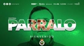 Cristóbal Parralo coge las riendas del Racing. Twitter/RealRacingClub