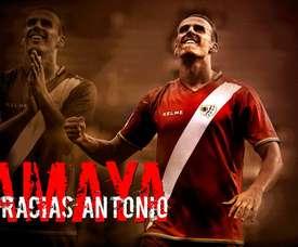 Amaya admite que le hubiera gustado retirarse en el Rayo. EFE