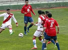 El Real Ávila se enfrenta al Rayo Vallecano en un amistoso. EFE