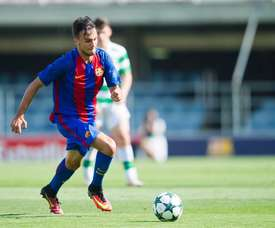 El Sabadell reforzó su delantera con Guillemenot. Twitter/CESabadell