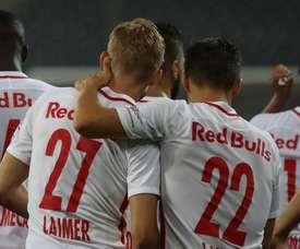 El Salzburgo venció por 3-1 al Mattersburg. FCRedBullSalzburg
