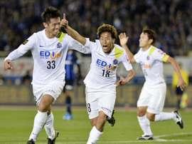 El Sanfrecce Hiroshima golea al Mazembe. Twitter