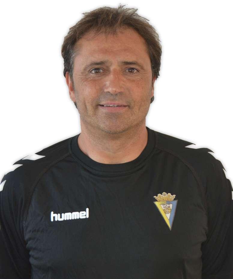 El segundo entrenador del Cádiz, Alfredo Santa Elena. CadizCF