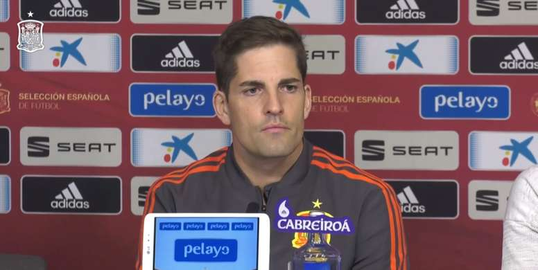 Robert Moreno spoke about the national team's current situation. SeFutbol
