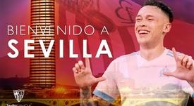 Ocampos will play for Sevilla next season. SevillaFC
