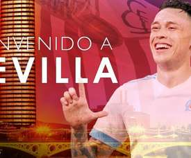 Ocampos will play for Sevilla next season. SevillaFC