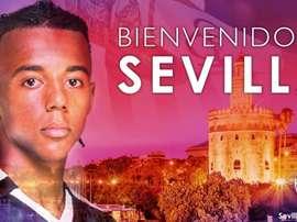 Firma hasta 2024. Twitter/Sevillafc